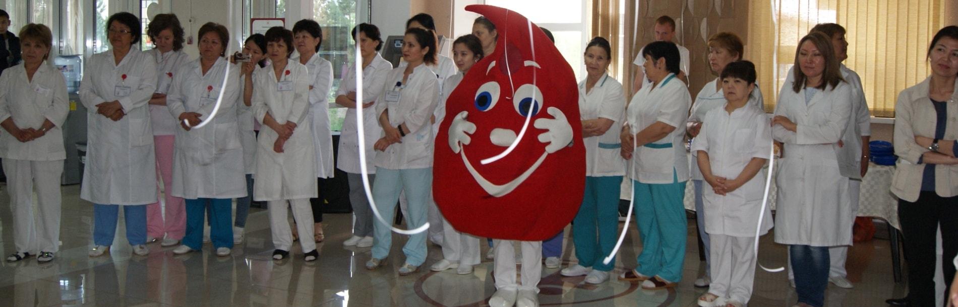 НПЦТ.  14 июня 2017 г.  Всемирный день донора  крови